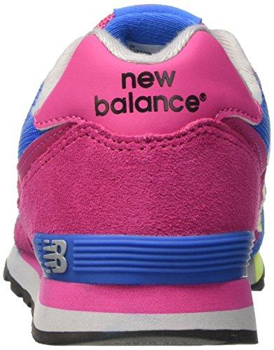 New Balance Unisex-Kinder Kl574wtg M Sneakers Pink/Blue