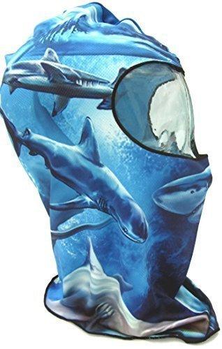 SHIHAN máscara,tiburón diseño Lycra Balaclave Super ...