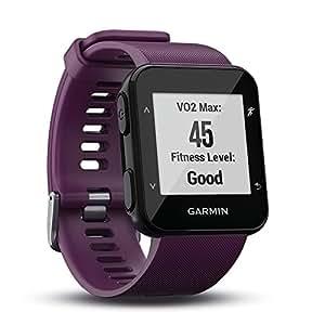 (Amethyst) - Garmin Forerunner 30 GPS Running Watch with Wrist Heart Rate - Amethyst