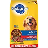 PEDIGREE Complete Nutrition Adult Dry Dog Food Grilled Steak & Vegetable Flavor, 50 lb. Bag Review