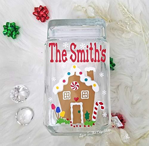 A Christmas Gingerbread Cookie Jar!