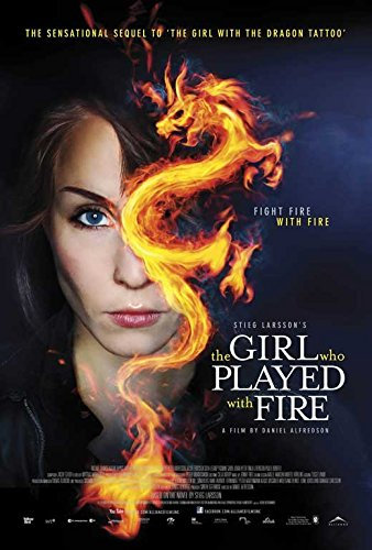 The Girl Who Played with Fire Poster Movie Canadian B 11 x 17 Inches - 28cm x 44cm Noomi Rapace Michael Nyqvist Lena Endre Georgi Staykov
