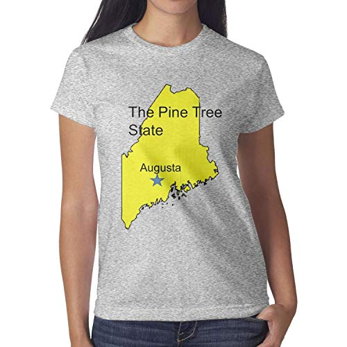 2bfb48eeb8 AIKYAN Maine is Located in The Northeast Augusta Classic Top T-Shirts Tops  for Women