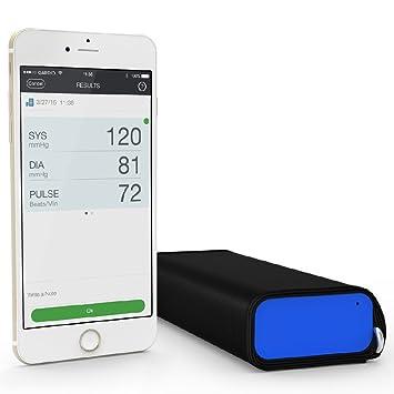 QardioArm -Tensiómetro Inalámbrico para iOS y Android, Color Azul Eléctrico: Amazon.es: Salud y cuidado personal
