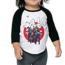 Age 2-6 Kids Toddler Ghostbusters Logo Slimer Little Boys And Girls T-Shirt