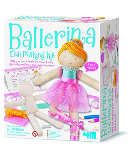 4M Doll Making Kit Ballerina