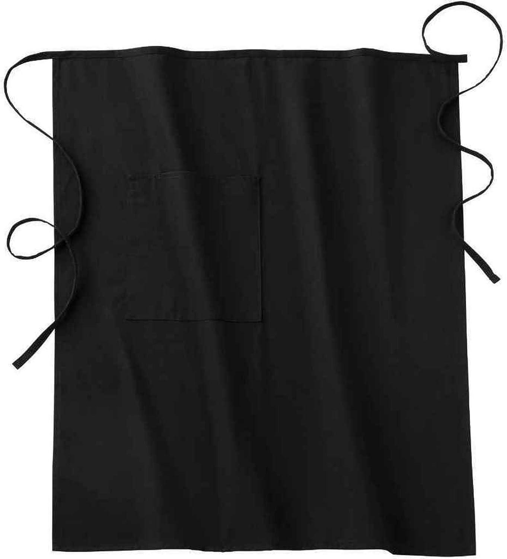 White bistro apron - Amazon Com Five Star 18024 Adult S Long Bistro Apron Black One Size Food Service Uniforms Aprons Clothing