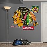 NHL Chicago Blackhawks Logo Fathead Wall Decal, Real Big
