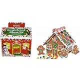 Create-a-treat Gingerbread House Kit, Deluxe Model net wt.2.66 lbs