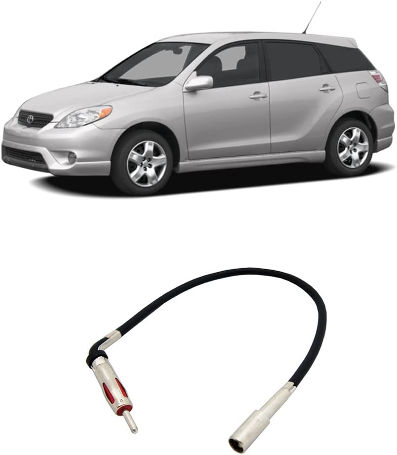 Compatible with Toyota Matrix 2003-2008 Factory Stereo to Aftermarket Radio Antenna Adapter Plug