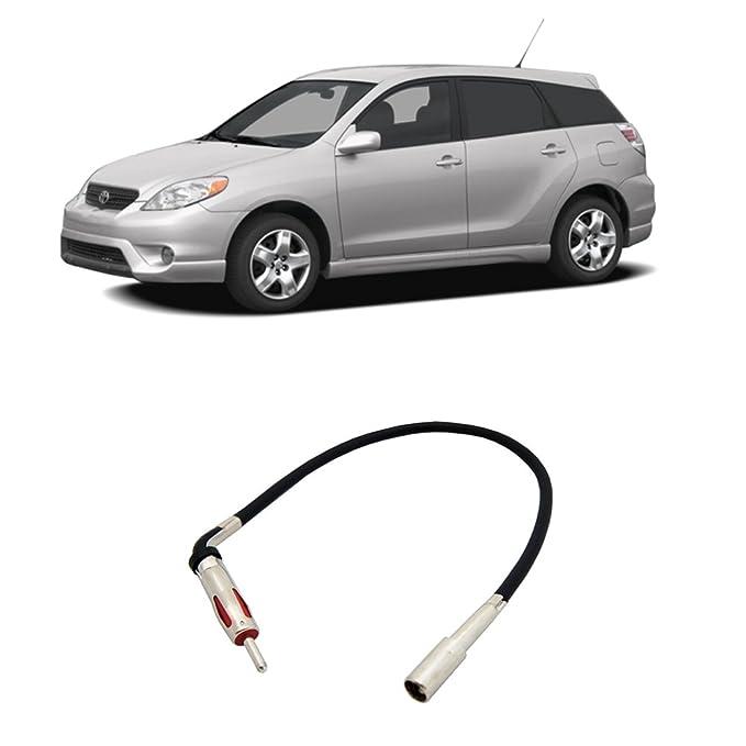amazon com: fits toyota matrix 2003-2008 factory stereo to aftermarket radio  antenna adapter plug: car electronics