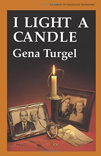 08 Candle - I Light A Candle (The Library of Holocaust Testimonies) by Gena Turgel (1995-08-24)