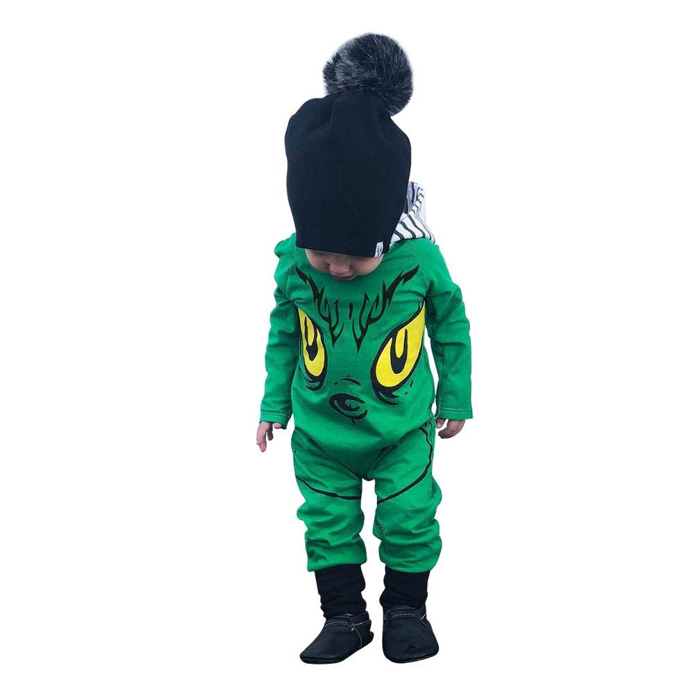 2887ea620b6 Childplaymate Boys Cartoon Monster Print Hooded Romper Long Sleeve Jumpsuit  (6-9M) (80cm  Amazon.in  Baby