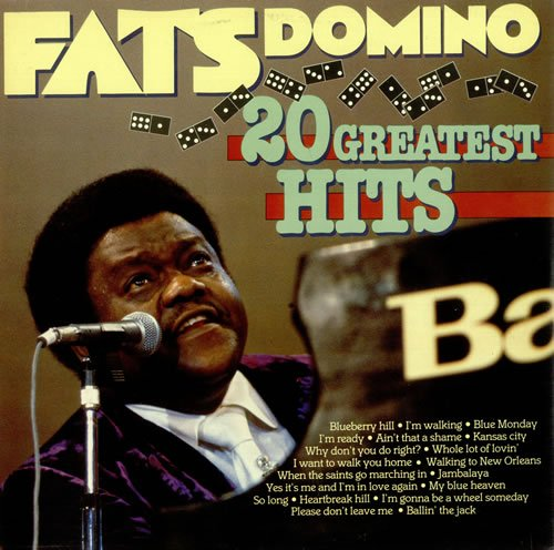 Fats Domino 20 Greatest Hits by EV