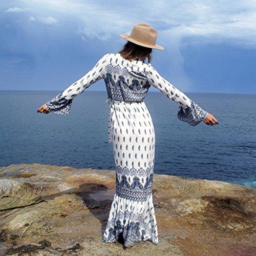 Average Lf Da Dd Size B Abito Cerimonia Maniche colore Dimensioni Spiaggia Vestito F Lunghe Spiaggia E Con w6qwrEd