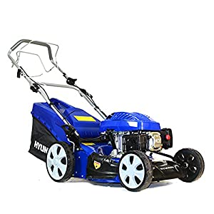 5121v8Zu6DL. SS300  - Hyundai HYM46SP 18 inch 460 mm Self Propelled 4-in-1 Petrol Lawn Mower Soft Grip Handle