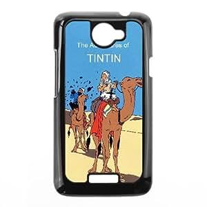 HTC One X Cell Phone Case Black TinTin cartoon SUX_123132