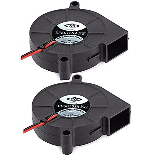 oling Fan 5015 Turbo Blower Fan for 3D Printer and Other Small Appliances Series Repair Replacement (Turbo Cooling)