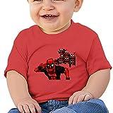 Lennakay Work Baby Boy's Spiderman O-Neck Soft And Cozy Tshirts Short Sleeve Size12 Months