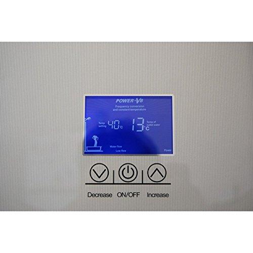 Hervidor de agua instantánea 8,8 kW KGT ajuste táctil ducha, lava manos, bañera Power V8: Amazon.es: Bricolaje y herramientas