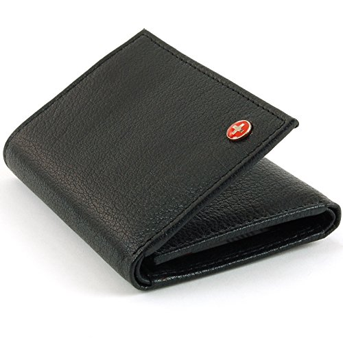 Alpine Swiss Blocking Trifold Genuine
