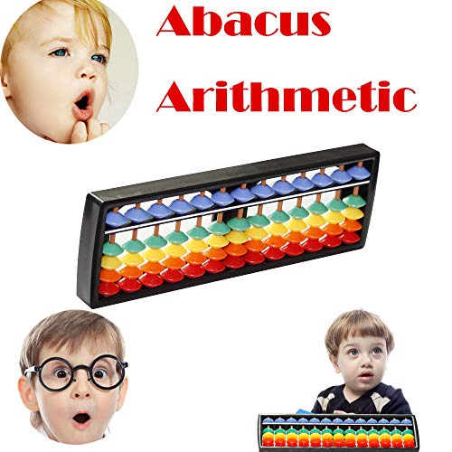 LIKESIDE Rods Colorful Beads Plastic Abacus Arithmetic Soroban