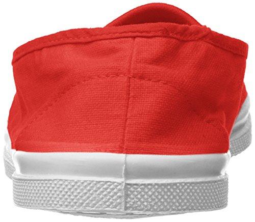 Baskets Rouge Elastique rouge Bensimon Tennis Femme cY6TWn4nq
