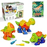 Ivy Step Dinosaur Toys for 3 Year olds, Boys & Girls Ages 3 - 8 Early Brain Development via a STEM Dinosaur Play Set for Hours of Fun