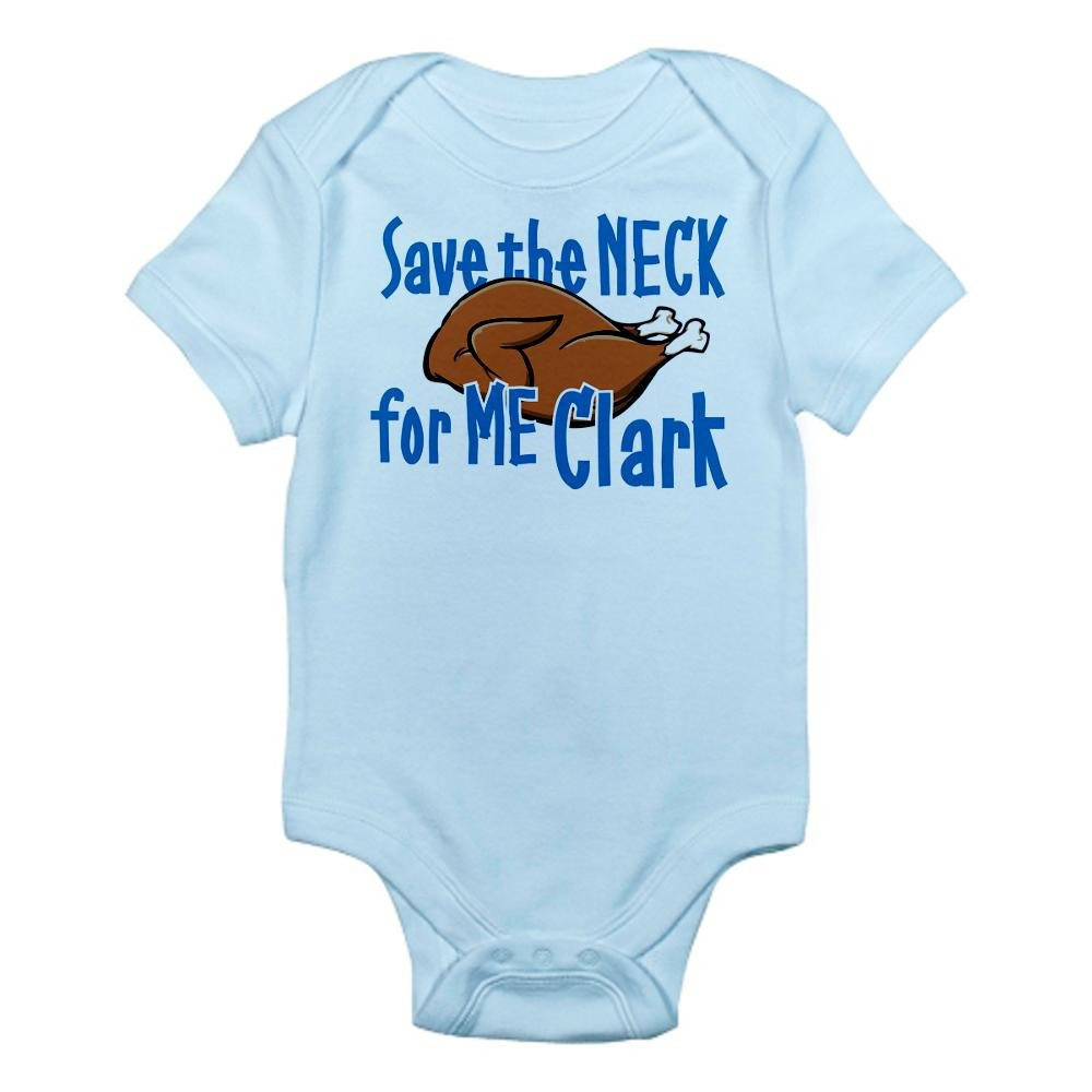 e2a3be9a0 Amazon.com: CafePress Save The Neck for Me Clark, Griswold Baby Bodysuit:  Clothing