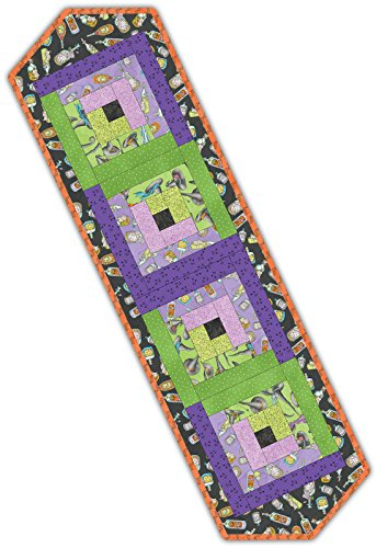Meg Hawkey Salem Quilt Show Log Cabin Table Runner Pod Quilt Kit Maywood Studio -