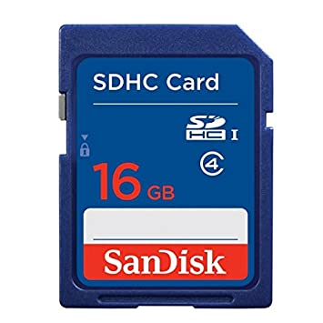 Kingston Tarjeta de Memoria 16 GB SDHC para Cámara Digital ...