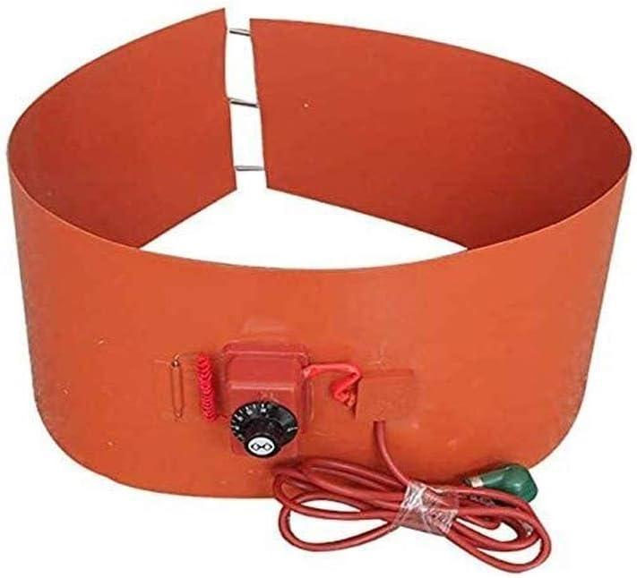 XRYM Heavy Duty Calentador for Aceite, Tambores estándar de Tipo de Tambor Giratorio de termostato Ajustable, Apto for bidones de plástico, Metal Tambores, Tambores de Miel, Pintura Tambores 8.20