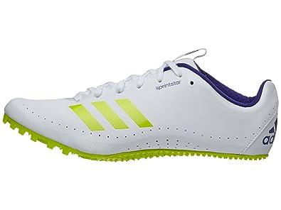 adidas Running Women's Sprintstar Footwear White/Ash Grey/Real Purple 5 ...