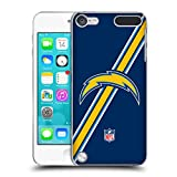 Official NFL Stripes San Diego Chargers Logo Hard Back Case for iPod Touch 5th Gen / 6th Gen