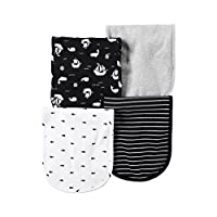 Carter's Baby Boys 4-Pack Ships Burp Cloths