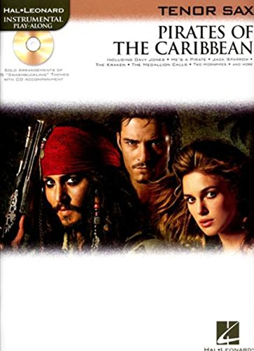 Tv Tenor Saxophone - Pirates of the Caribbean: for Tenor Sax (Hal Leonard Instrumental Play-along)
