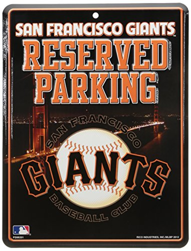 MLB San Francisco Giants Parking Sign (San Francisco Giants Metal)