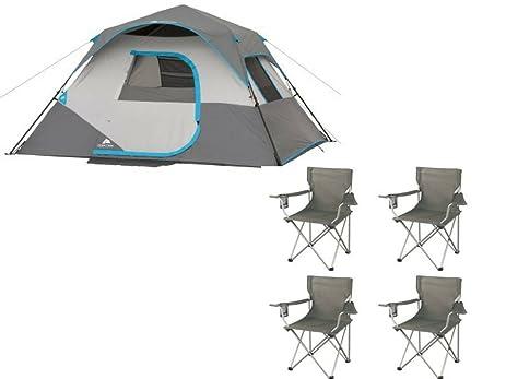 Ozark Trail 10u0027 x 9u0027 x 66u0026quot; 6-Person Instant Cabin Tent  sc 1 st  Amazon.com & Amazon.com : Ozark Trail 10u0027 x 9u0027 x 66