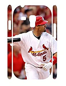 Classy Sports Guy Custom Durable TPU Phone Protective Case for Samsung Galaxy S3 Mini I8200