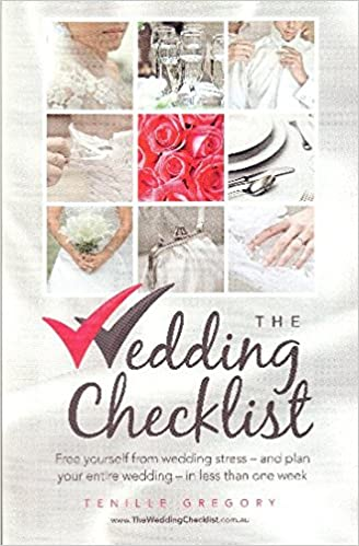 amazon the wedding checklist free yourself from wedding stress