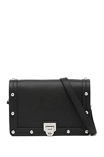 a1f3b92f84e2 Amazon.com: Rebecca Minkoff Madison Leather Crossbody Bag - Black: Shoes
