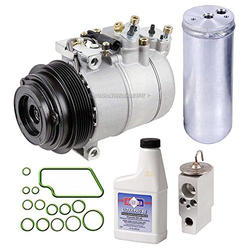 Mercedes Benz Compressor Ac (New AC Compressor & Clutch With Complete A/C Repair Kit For Mercedes ML-Class - BuyAutoParts 60-80147RK New)
