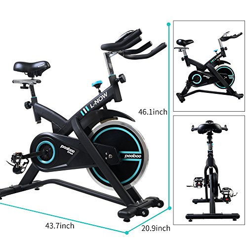 L NOW Pro Indoor Cycling Bike Belt Driven Exercise Bike
