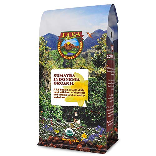 Java Planet - Sumatra Indonesian USDA Organic, Fair Trade Coffee Beans, Dark...