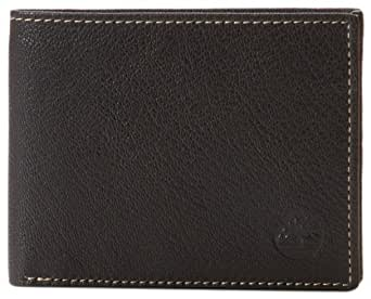 Timberland Men's Blix Leather Passcase, Black, One Size