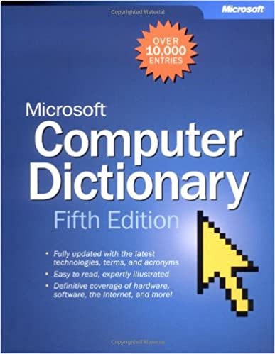 microsoft computer dictionary 6th edition