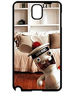 New Style 8711356ZA109925410NOTE3 Lovers Gifts Hot Style Protective Case Cover For Samsung Galaxy Note 3(Rayman Raving Rabbids Playing Wii) NHL Sport phone case's Shop