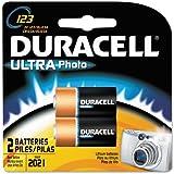 2-Pack DL123 3V Camera Battery