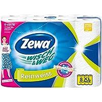 Zewa Wisch&Weg Reinweiss Küchenrollen (8 Rollen x je 45 Blatt)