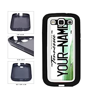 Personalized Custom Tennesse License Plate TPU RUBBER SILICONE Phone Case Back Cover Samsung Galaxy S3 I9300
